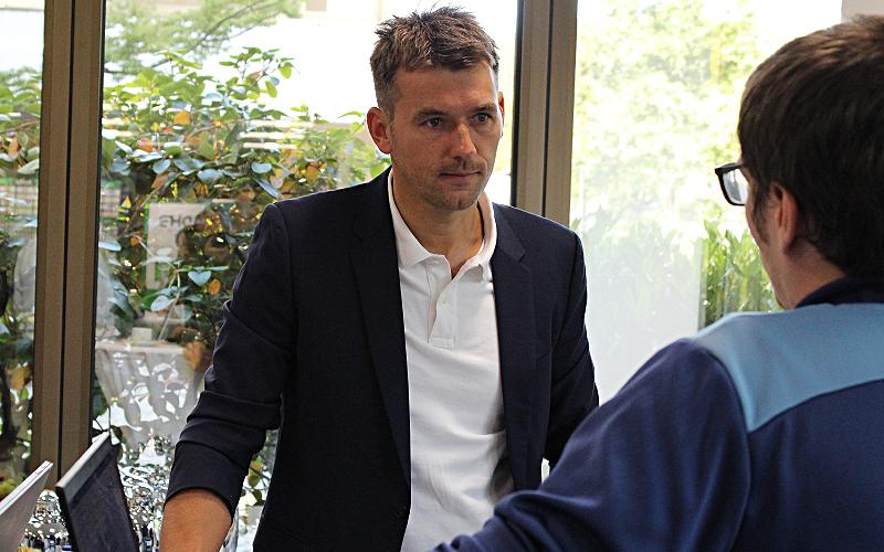 Bundestrainer Prokop in Schalksmühle